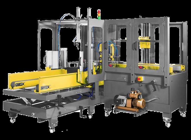 Автоматический формовщик-заклейщик коробов Extend EXC-107