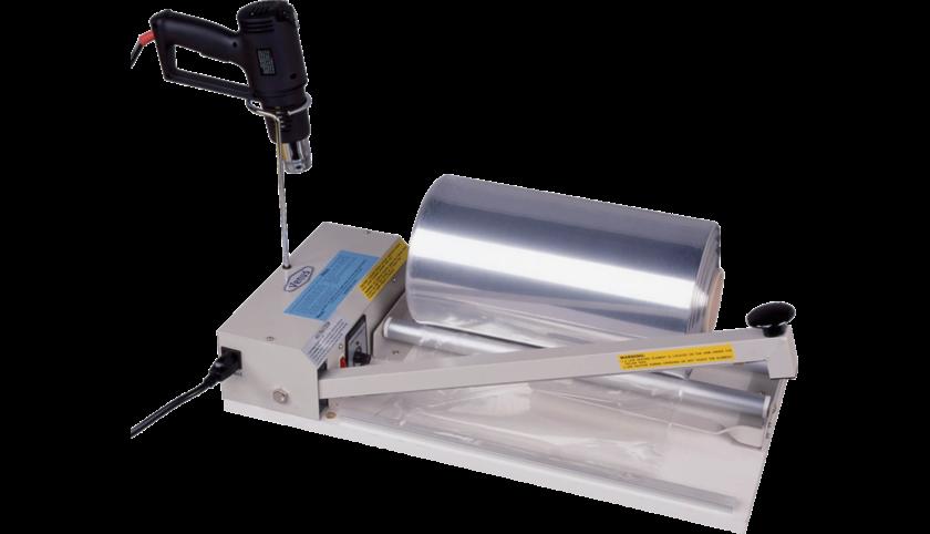 Виды оборудования для термоусадочной упаковки