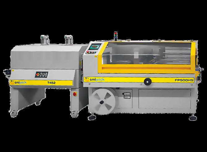 Автомат для термоусадки FP500HS и термотоннель Т452