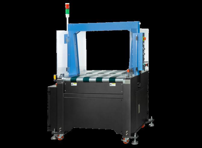 Автоматическая конвейерная стреппинг машина EXS-137B
