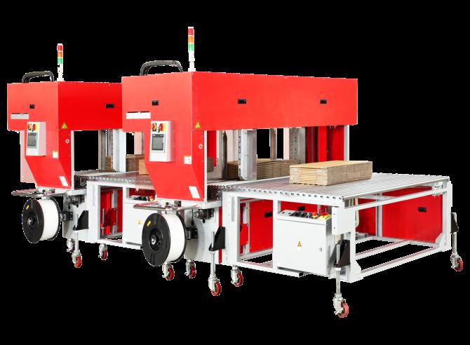 Автоматическая стреппинг машина для обвязки картона TP-702CQ3-T